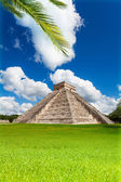 Nice view of Chichen, Itza monument, Mexico — Stock Photo