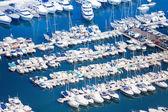 Marina in Monaco on Mediterranean sea — Stock Photo
