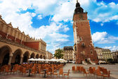 Town Hall Tower (Wieza ratuszowa w Krakowie) — Stock Photo