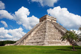 Beautiful view of Chichen Itza monument, Mexico — Stock Photo