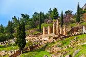 Ancient Apollo temple — Stock Photo