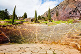 Starożytny amfiteatr — Zdjęcie stockowe