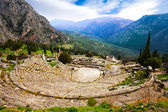 Amphitheater, Delphi — Foto Stock