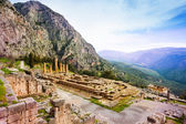 Ancient Apollo temple, Greece — Stockfoto