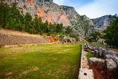 Ruined Greek stadium — Stock Photo