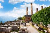 Antik bir tapınak kalıntıları — Stok fotoğraf