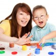 Mother and kid together — Stock Photo #5858633