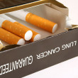 cigarette pack — Stock Photo