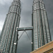 Petronas Twin Towers — ストック写真
