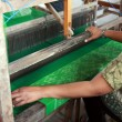 Batik Weaving - Stock Photo