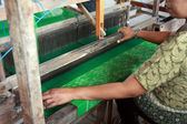 Batik Weaving — Stock Photo