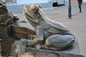 Monument of the frog — Photo