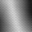Bee hive metal background — Stok fotoğraf