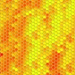 Honey comb pattern background — Stock Photo #14362609