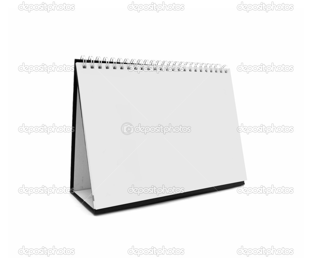 空白桌面日历