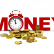 Time and money concept — Stockfoto #26695853