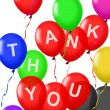 Thank You balloons floating — Stock Photo #27907049