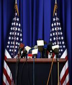 President Speech Podium — Stock Photo