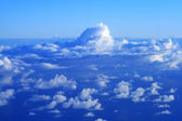 High altitude clouds — Stock Photo