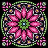 Decorative flower — Stock Vector