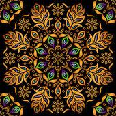 Decorative gold pattern — Stock Vector