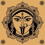 viso indiano — Vettoriale Stock  #31512803