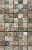 Coconut mosaic — Stock Photo