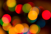 Flare and bokeh — Stock Photo