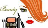 Makeup — Stock Vector