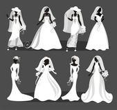 Wedding collection — Stock Vector