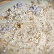 Wedding dress close up - Stock Photo
