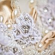 Wedding dress close up — Stock Photo #13712503