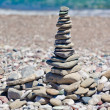 Royalty-Free Stock Photo: Pyramid of stones