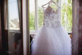 Robe de mariée belle — Photo
