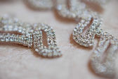 Wedding Beautiful adornment — Stock Photo