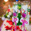 Stock Photo: Table set for an event party