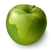 Apple decorative — Stock Vector