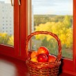 Stock Photo: Autumn apples