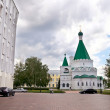Постер, плакат: Cathedral of the Archangel Michael and the administrative building of Government of Nizhny Novgorod region
