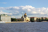 St. Petersburg. View of the Neva — Stock Photo