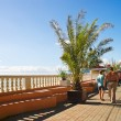 Stock Photo: Lasarevskoye promenade of resort in Krasnodar region in Russia