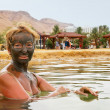Mud treatment at the Dead Sea — Stock Photo #31177259