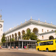 Stock Photo: Railway Station Square in Sochi