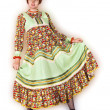 Stock Photo: Womin folk sundress