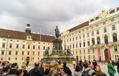 Neue Burg of Hofburg Palace , Vienna — Stock Photo
