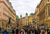 グラーベン通りオーストリアのウィーンで — ストック写真