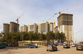 City building of habitation — Stock Photo