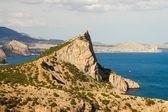 Crimean mountains Black sea in New World — Foto de Stock