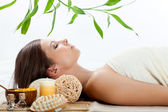 Woman in a spa — Stock Photo