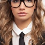 Closeup seriously businesswoman portrait — Stock Photo #21558155
